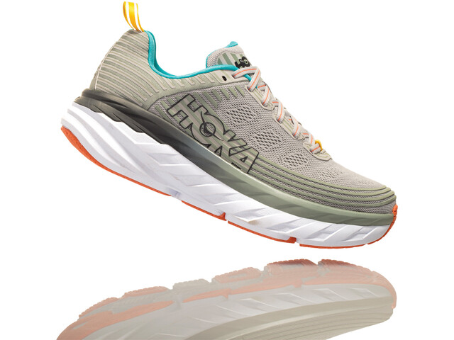 Hoka One One Bondi 6 Running Shoes Dame vapor blue/wrought iron